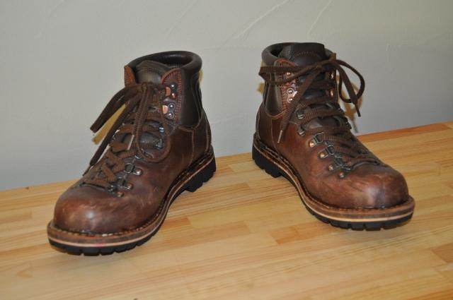 お気に入り登山靴の紹介です
